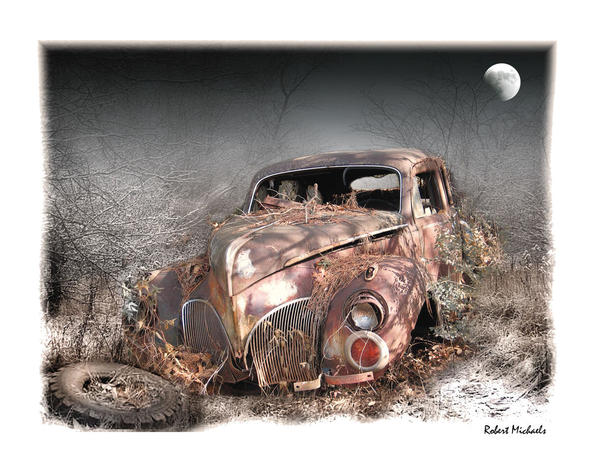 Moonlight And Rust-1940 Lincoln Zephyr